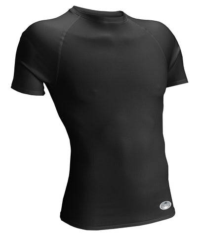 Russell Athletic Youth Tight-Fit Short Sleeve Crew - Black