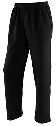 Russell Athletic Youth Fleece Pocketed Pant - Black Heather Selected