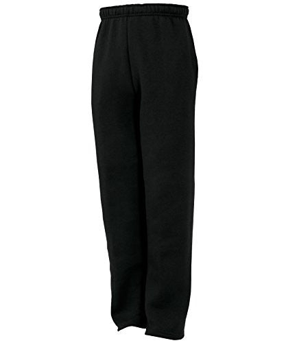 Russell Athletic Youth Fleece Pocketed Pant - Black Selected
