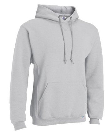 Russell Athletic Mens Dri-Power Fleece Pullover Hoodie - Ash Selected