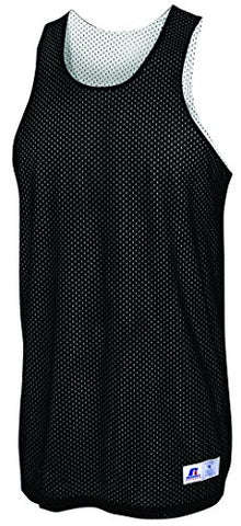 Russell Athletic Youth Reversible Basketball Practice Jersey - Black/White