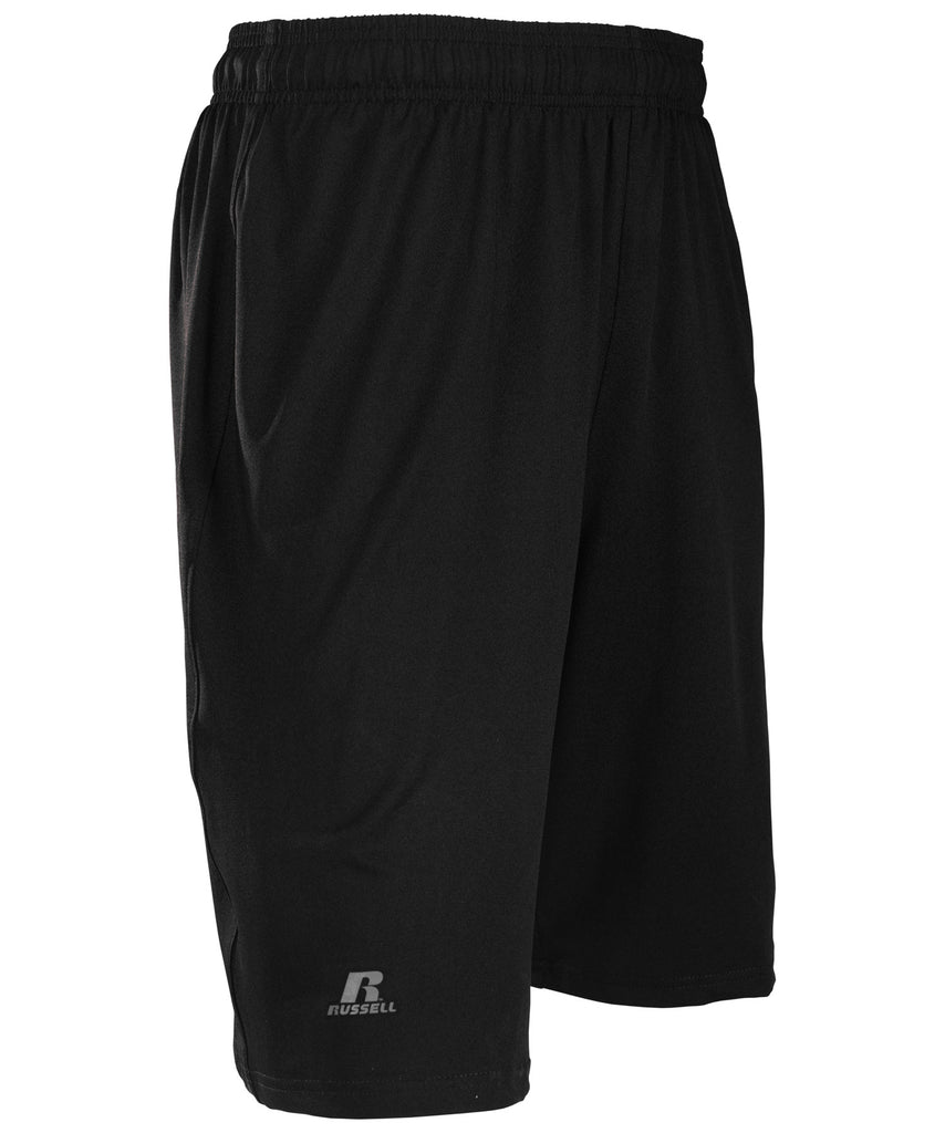 Russell Athletic Men's Dri-Power Stretch Short - Black Selected
