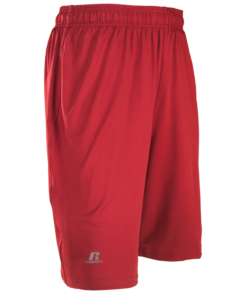 Russell Athletic Men's Dri-Power Stretch Short - Cardinal Selected