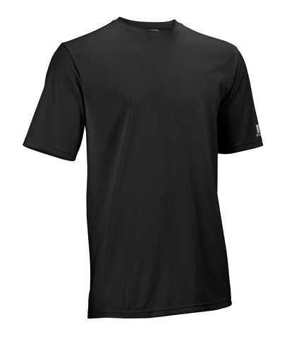 The Russell Athletic Core Performance Tee is a great addition to your wardrobe for working out or playing sports. This short-sleeve shirt features moisture wicking fabric and self-material crew neck. Available in sizes S-4XL.