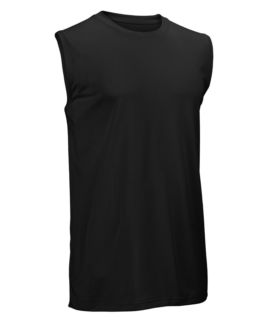 Russell Athletic Men's Core Performance Sleeveless Tee - Black Selected