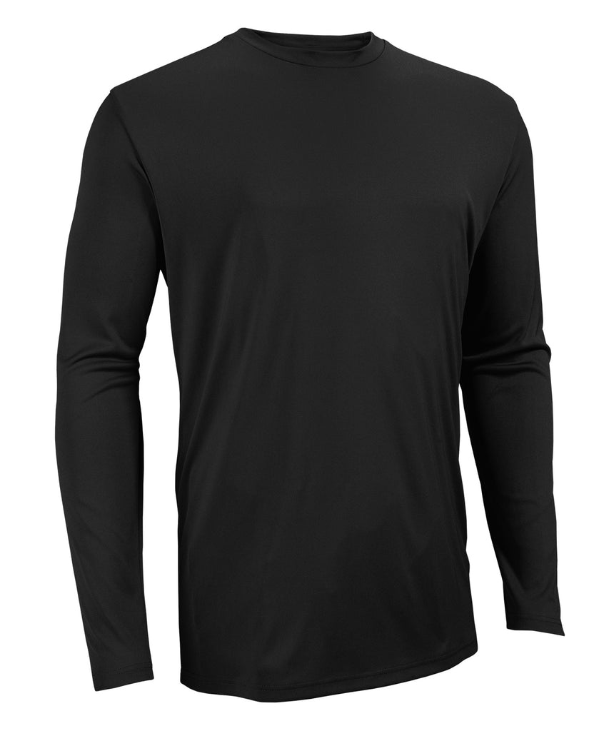 Russell Athletic Men's Core Performance Long Sleeve Tee - Black Selected