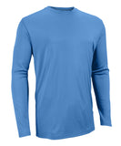 Russell Athletic Men's Core Performance Long Sleeve Tee - Columbia Blue