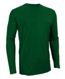 Russell Athletic Men's Core Performance Long Sleeve Tee - Dark Green