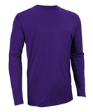 Russell Athletic Men's Core Performance Long Sleeve Tee - Purple