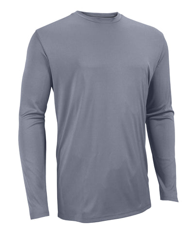 The Russell Athletic Core Performance Long Sleeve Tee is a great addition to your wardrobe for working out or playing sports. This long-sleeve shirt features moisture wicking fabric and self-material crew neck. Available in sizes S-4XL.