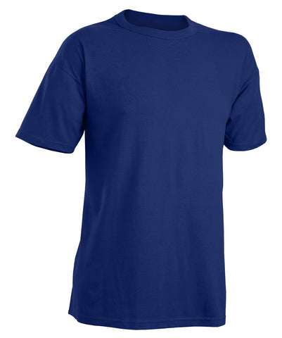 The Russell Athletic Men's NuBlend Tee combines durability with functionality at value price. With set-in sleeves, two-needle hemmed sleeve openings and bottom, this timeless classic is an everyday staple.