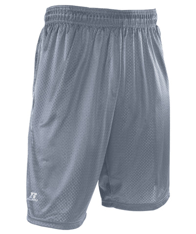 Breathable mesh and comfortable fit make these Russell Athletic Men's Mesh Short with pockets a must-have for working or hanging out.