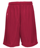 Russell Athletic Youth Polyester Tricot Mesh Shorts - Cardinal