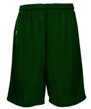 Russell Athletic Youth Polyester Tricot Mesh Shorts - Dark Green