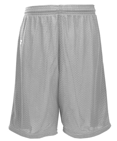 Russell Athletic Youth Polyester Tricot Mesh Shorts - Gridiron Silver