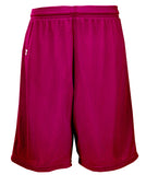 Russell Athletic Youth Polyester Tricot Mesh Shorts - Maroon