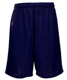 Russell Athletic Youth Polyester Tricot Mesh Shorts - Navy