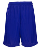 Russell Athletic Youth Polyester Tricot Mesh Shorts - Royal