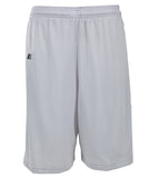 Russell Athletic Youth Polyester Tricot Mesh Shorts - White
