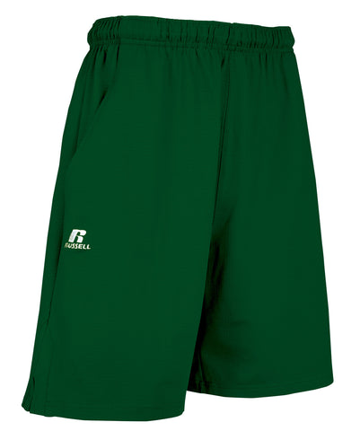 Russell Athletic Men's Dri-Power Coach's Shorts - Dark Green