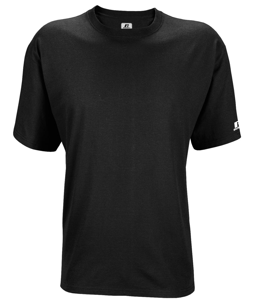 Russell Athletic Men's Athletic Crew Neck Tee - Black Selected