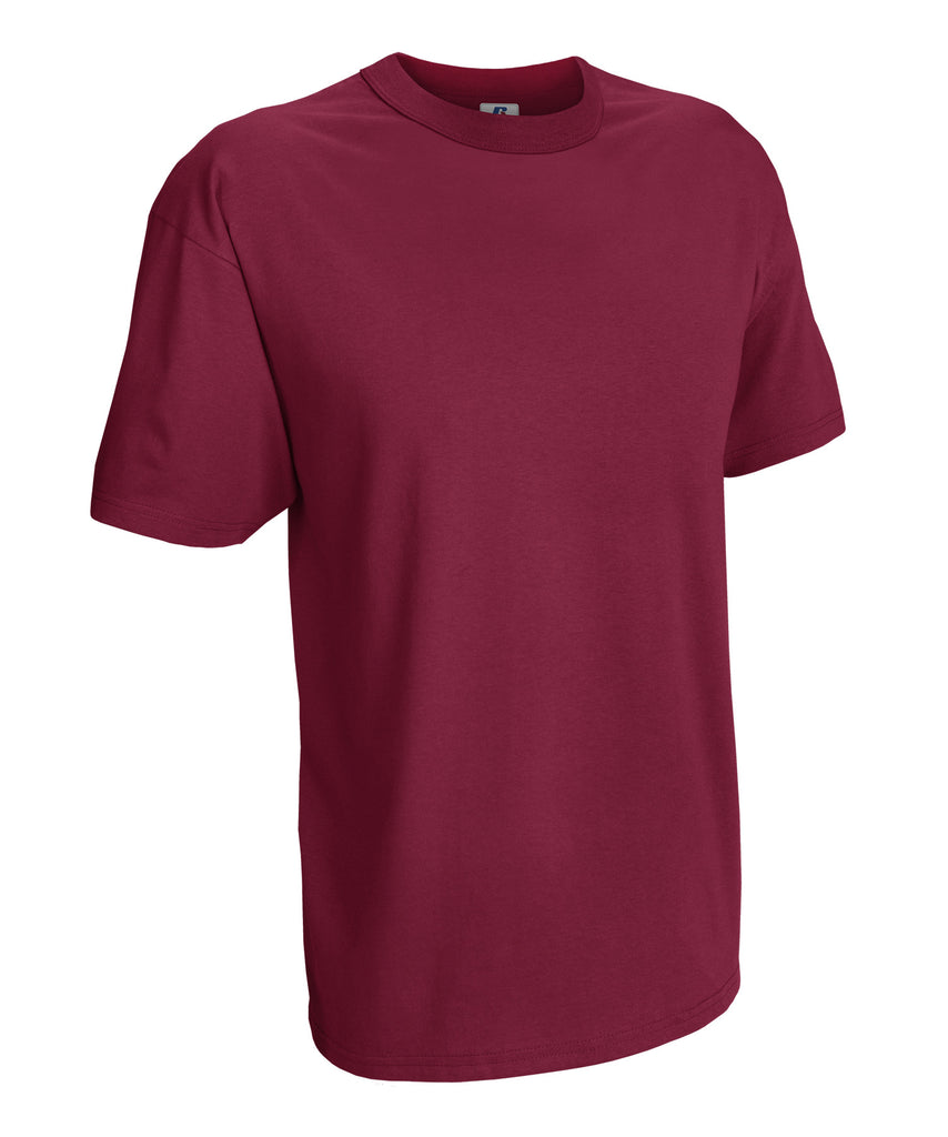 Russell Athletic Men's Athletic Crew Neck Tee - Cardinal Selected