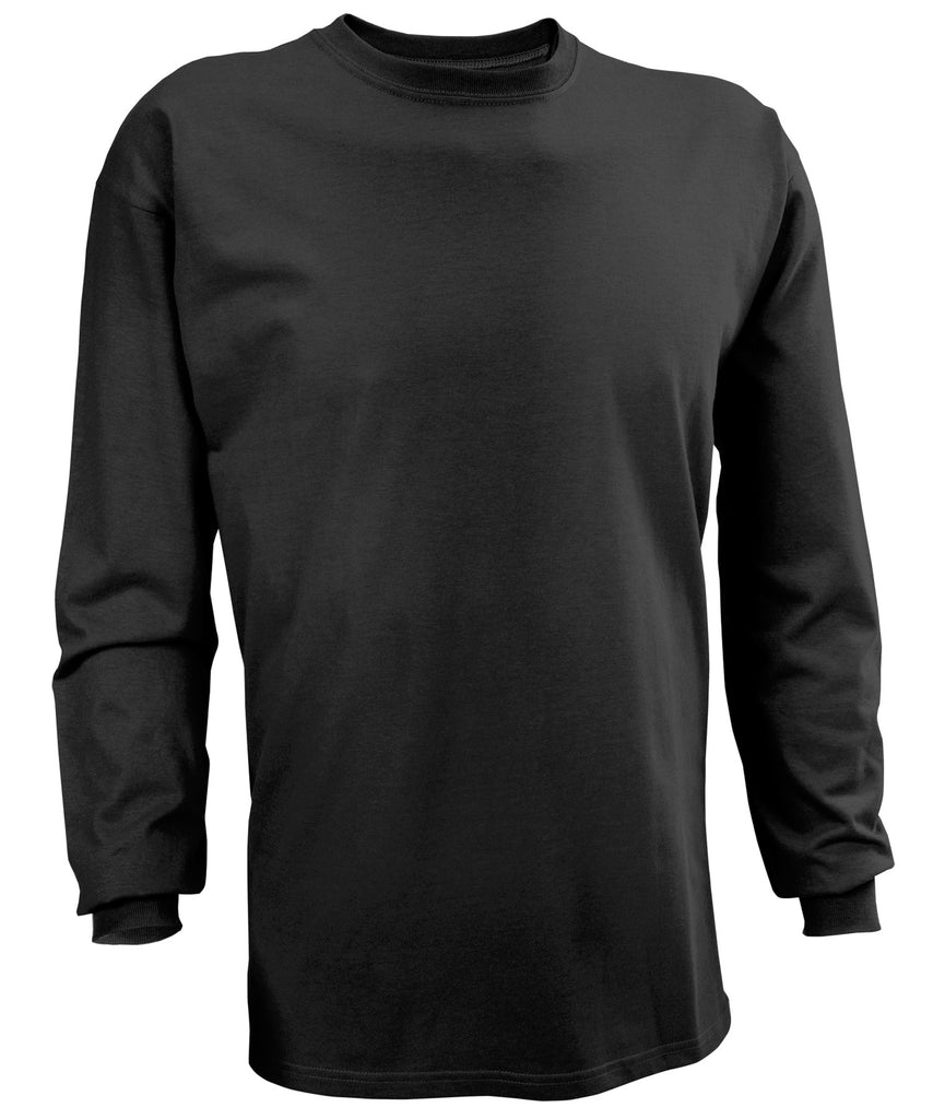 Russell Athletic Men's Athletic Long Sleeve Tee - Black Selected