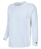 Russell Athletic Men's Athletic Long Sleeve Tee - White