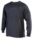 Russell Athletic Men's Athletic Long Sleeve Tee - Black Heather