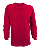 Russell Athletic Men's Athletic Long Sleeve Tee - True Red