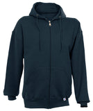 Russell Athletic Men's Dri-Power Fleece Full Zip Hoodie - Navy