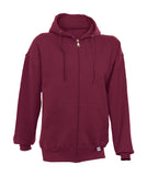 Russell Athletic Men's Dri-Power Fleece Full Zip Hoodie - Cardinal