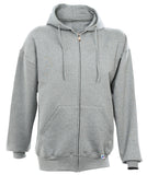 Russell Athletic Men's Dri-Power Fleece Full Zip Hoodie - Oxford