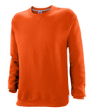 Russell Athletic Mens Dri-Power Fleece Crew - Burnt Orange