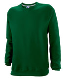 Russell Athletic Mens Dri-Power Fleece Crew - Dark Green