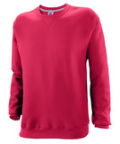Russell Athletic Mens Dri-Power Fleece Crew - True Red