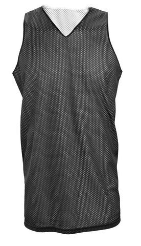 Russell Athletic Women's Reversible Basketball Practice Jersey - Black/White