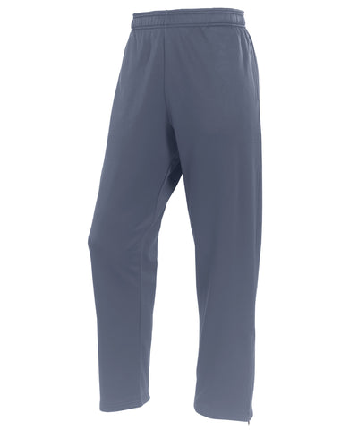 The Russell Athletic Men's Technical Performance Fleece Pants feature Dri-Power moisture-wicking fabric making them perfect for exercising and soaking up sweat. These pants have natural stretch and are quick to dry. They have side entry pockets with a back zippered pocket on the right hip. The Technical Performance Fleece Pants have zipper leg openings. These are a must-have for a cold weather workout.