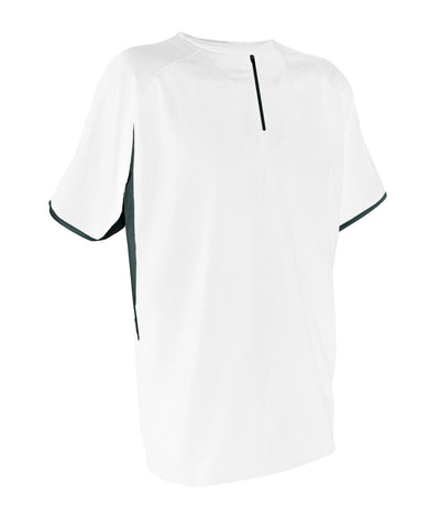 Russell Athletic Men's Short Sleeve Pullover - White/Baseball Grey