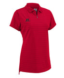 Russell Athletic Women's Golf Polo - True Red