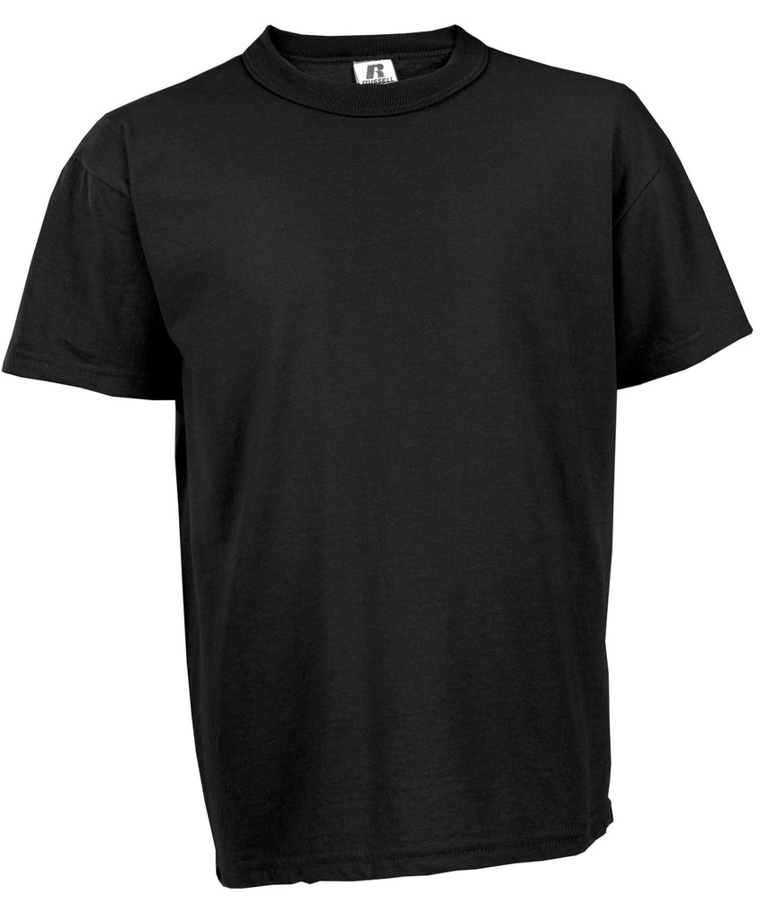 Russell Athletic Youth NuBlend Tee - Black Selected