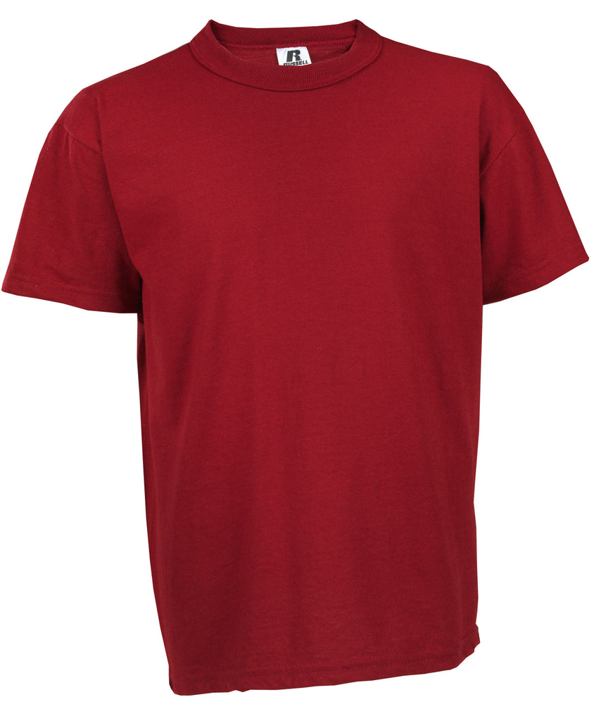 Russell Athletic Youth NuBlend Tee - Cardinal Selected