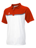 Russell Athletic Men's Colorblock Gameday Polo - White/Cardinal/Steel