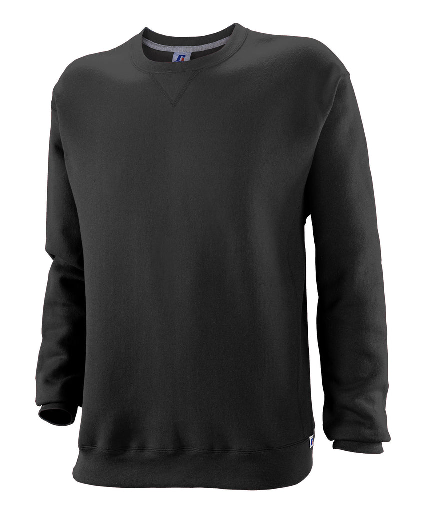 Russell Athletic Youth Dri-Power Fleece Crew - Black Selected