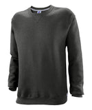 Russell Athletic Youth Dri-Power Fleece Crew - Black Heather