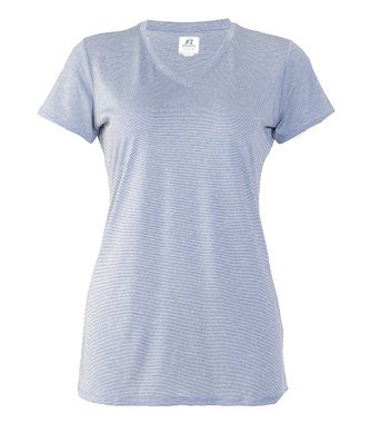 Russell Athletic Women's Short Sleeve Performance Tee - Blue Selected