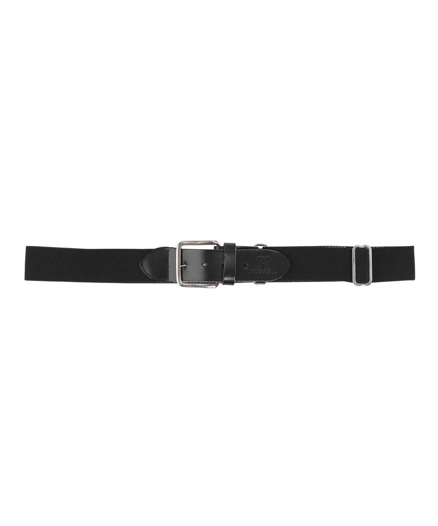 Russell Athletic Adjustable Adult Baseball Belt - Black Selected