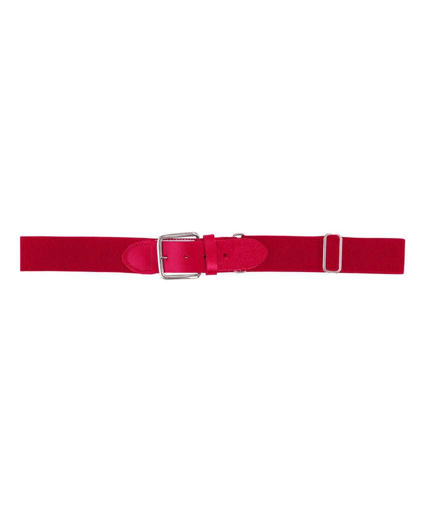 Russell Athletic Adjustable Adult Baseball Belt - True Red Selected