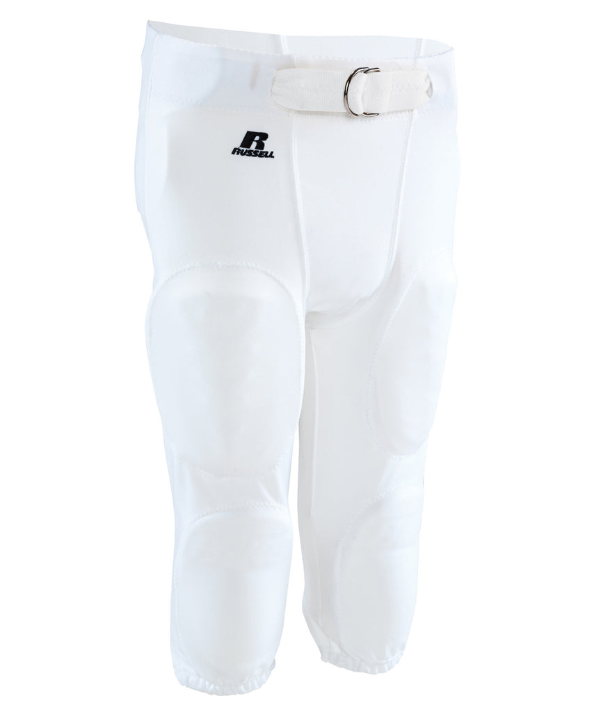 Russell Athletic Men's Practice Football Pants - White Selected