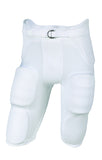 Russell Athletic Men's Integrated 7 Piece Pad Football Pants - White